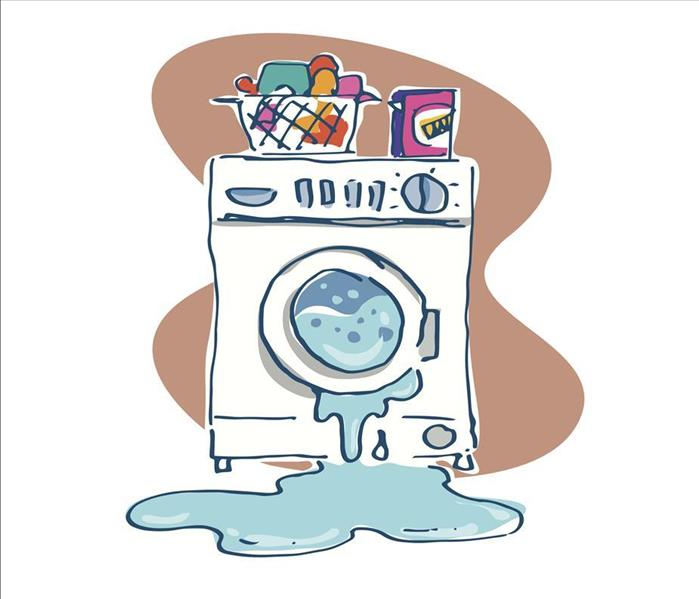 Water Damage Ignoring a Leaking Washer Can Cause Water Damage in Your Oxnard Home